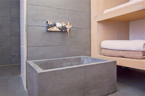 concrete feet wash basin   concrete sinks