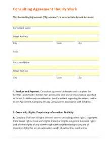 consulting agreements template business form template gallery