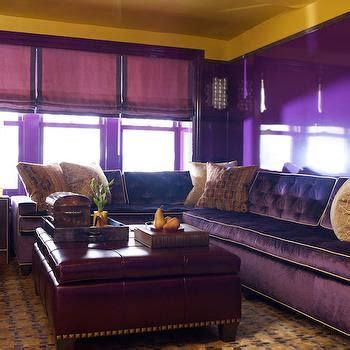 Purple And Gold Living Room by Purple Tufted Chair Den Library Office