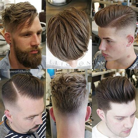 under cut long hair mohawk side part haircuts 40 best side part hairstyles for men
