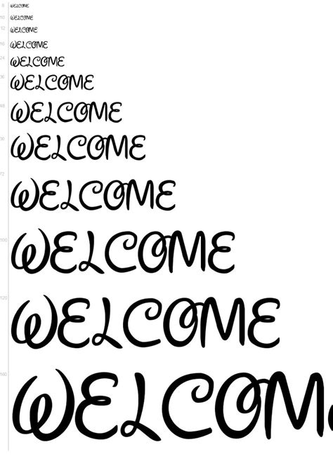 disney cursive font pictures to pin on pinterest pinsdaddy walt disney font letter printables pictures to pin on