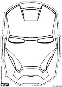 iron mask template iron mask coloring pages getcoloringpages