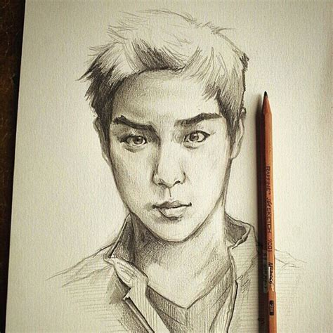 sketchbook korean boy images usseek
