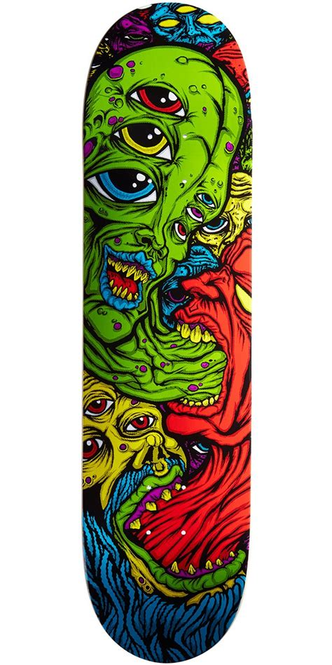 Deathwish Deck by Deathwish Spew Skateboard Deck Williams 8 0