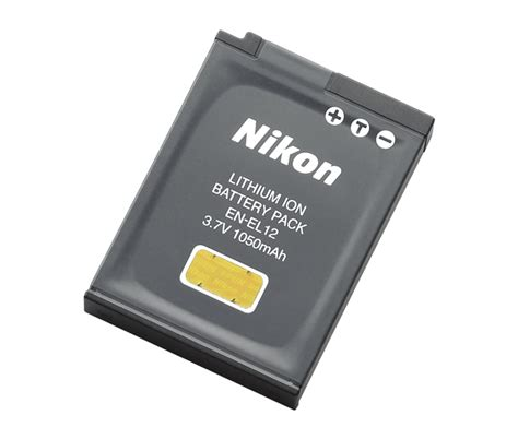 en el12 rechargeable battery from nikon