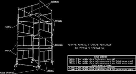 shelf  casters dwg block  autocad designs cad