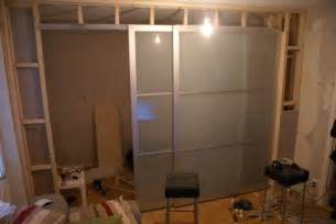 sliding walls ikea turn your studio apartment into a 1 bedroom with pax