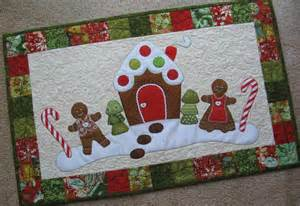 Christmas table runner patterns to stitch up this weekend