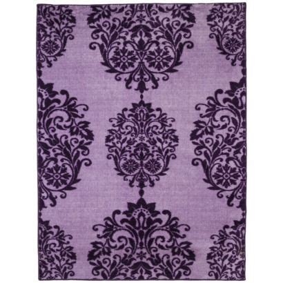 purple throw rug xhilaration chandelier area rug purple 4x56 my