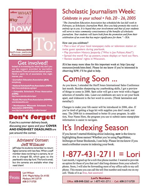 newsletter layout sles february newsletter template 28 images best photos of