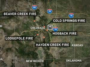 colorado wildfire update