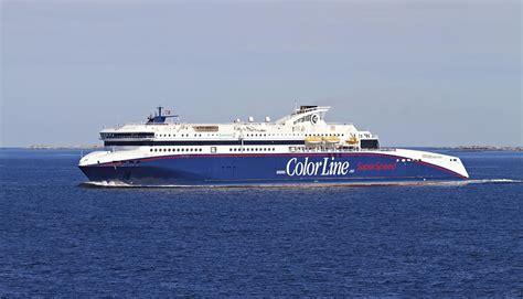 on the color line hirtshals dk larvik color line ferjeselskaper in