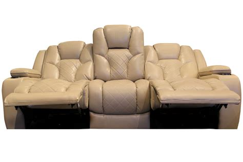Reclining Sofa With Table Turismo Power Reclining Sofa With Drop Table At Gardner White
