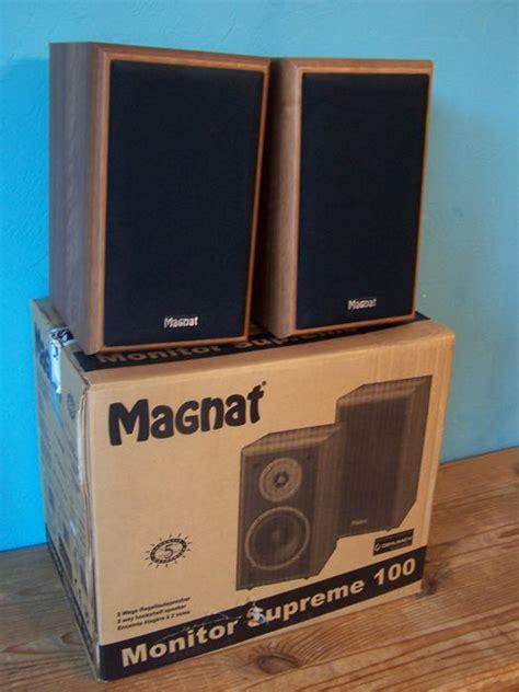 magnat monitor supreme 100 magnat monitor supreme 100 compact speakers shelf