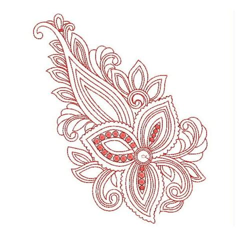 embroidery design outline red outline embroidery designs embroideryshristi