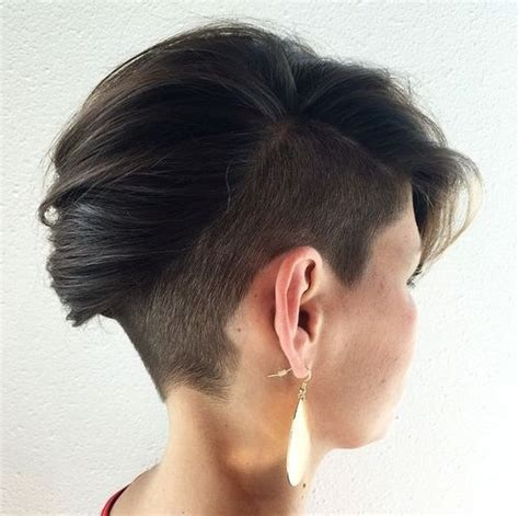 pixie mohawk 2014 35 trendiest short brown hairstyles and haircuts to try