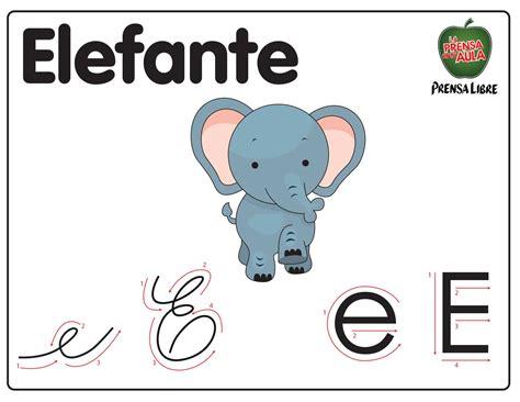 imagenes que empiecen con la letra e para imprimir animales con la letra e imagui