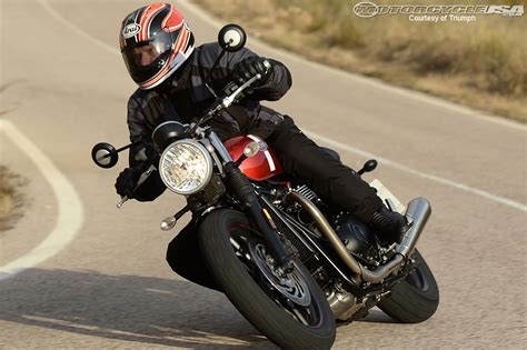 Biker Motorrad by 2016 Triumph Street Twin First Ride Review Motorcycle Usa