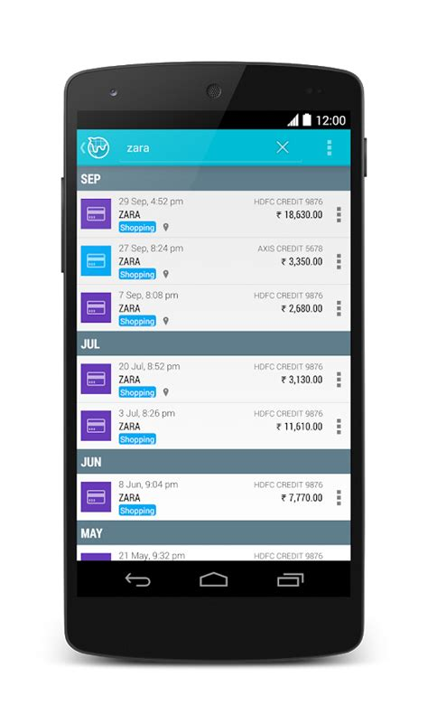 android personal assistant expense tracker cards bills android apps on play
