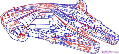 how is from with a how to draw the spaceship from wars with a pencil step by step