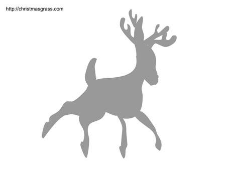 printable reindeer stencils free printable christmas stencils