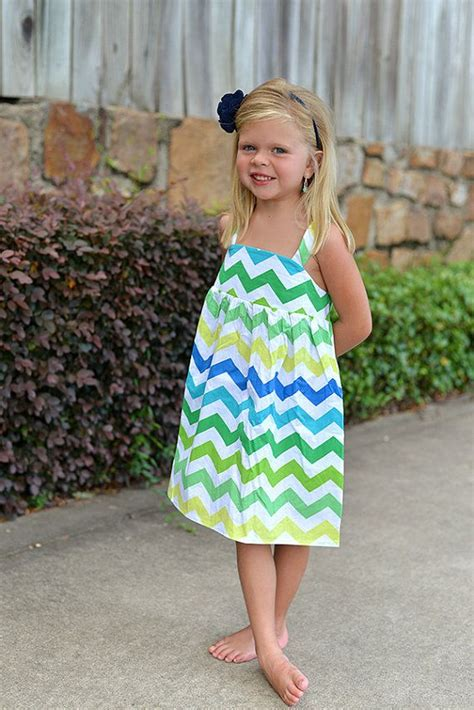 summer dressing style for thin women in printrest chevron stripe girls summer dress toddler girls boutique