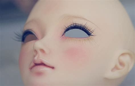 jointed doll eyelashes 63 best doll hobby bjd faceups images on