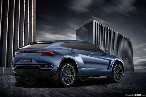Lamborghini Suv Price Tag Lamborghini Urus Suv Renderings Show Production Ready