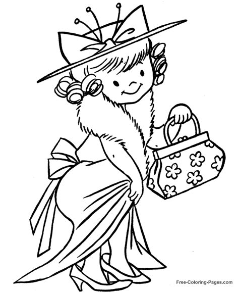 dress up snowman coloring sheet coloring pages
