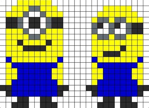 minion perler bead patterns sandylandya despicable me minions perler bead pattern