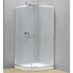 corner shower door kits dreamline 38 quot x 38 quot prime sliding clear corner shower