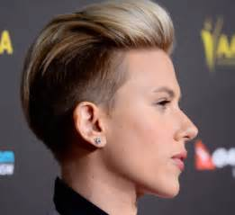 why johansson cut hair best celebrity undercut hairstyles