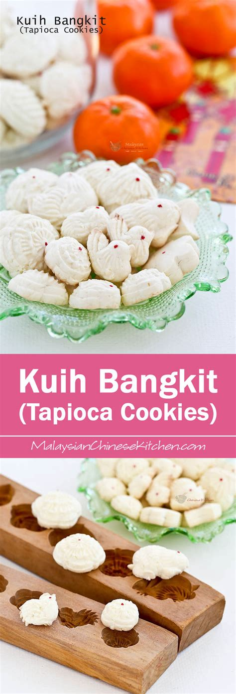 new year cookies 2015 malaysia kuih bangkit tapioca cookies malaysian kitchen