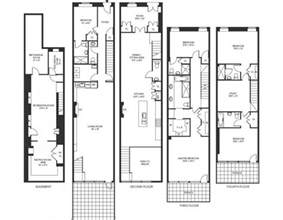 5 bedroom townhouse floor plans 8 25 million 4 story townhouse in new york ny homes of