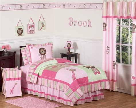 pink and green queen comforter sets pink and green girls jungle kids bedding 3pc full queen set only 119 99