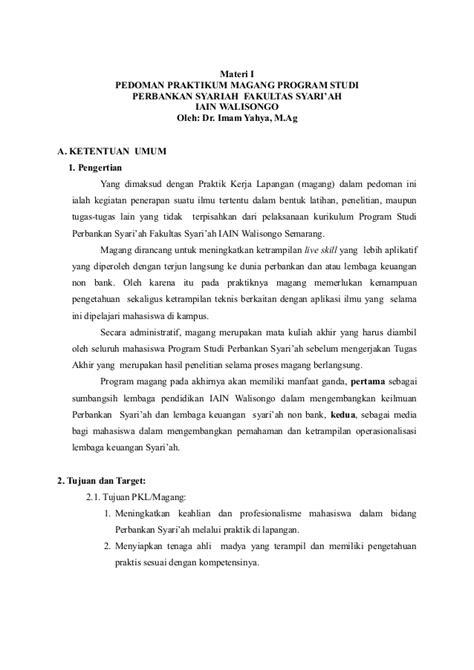 contoh laporan magang 1 9 fontoh