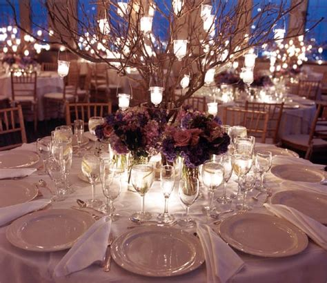 Wedding Reception Table by Wedding Table Centerpieces