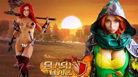 imagenes satanicas en clash of clans personajes de clash of clans en la vida real youtube