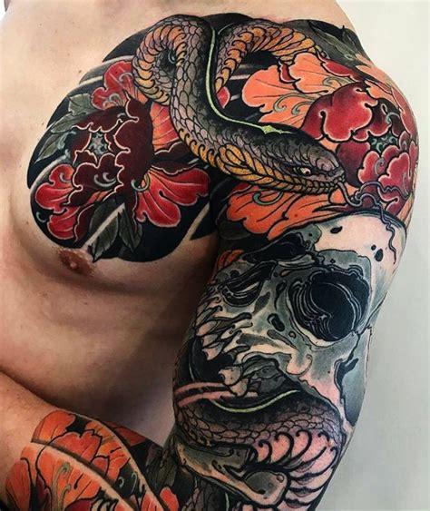 tattoo oriental no braço japanese tattoo sleeve by max titanic japaneseink