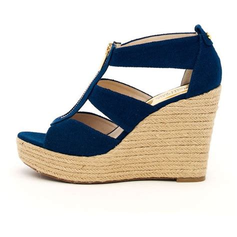 Navy Blue Wedge Wedding Shoes by Best 25 Blue Wedges Ideas On Colorful Wedges
