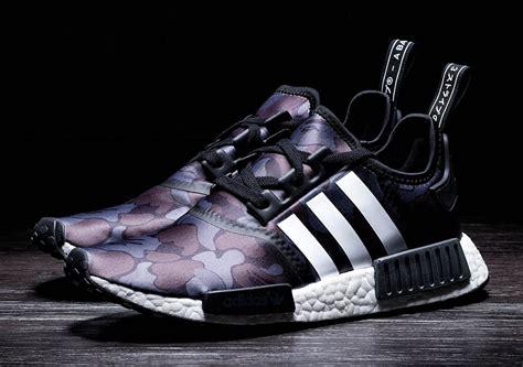 adidas bape bape adidas nmd black camo raffle sneakernews com
