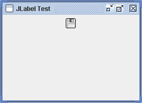 jlabel in java swing exle vertical alignment top jlabel 171 swing 171 java tutorial