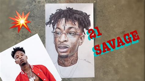 Drawing 21 Savage by Drawing 21 Savage