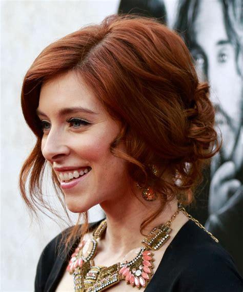 is kate middletons hair mahogany kate gorney updo medium curly formal wedding updo