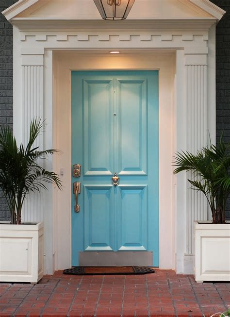 blue house with door dallas real estate front door colors to help sell