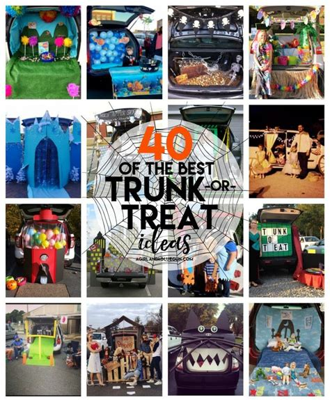 halloween story themes 40 of the best trunk or treat ideas halloween ideas