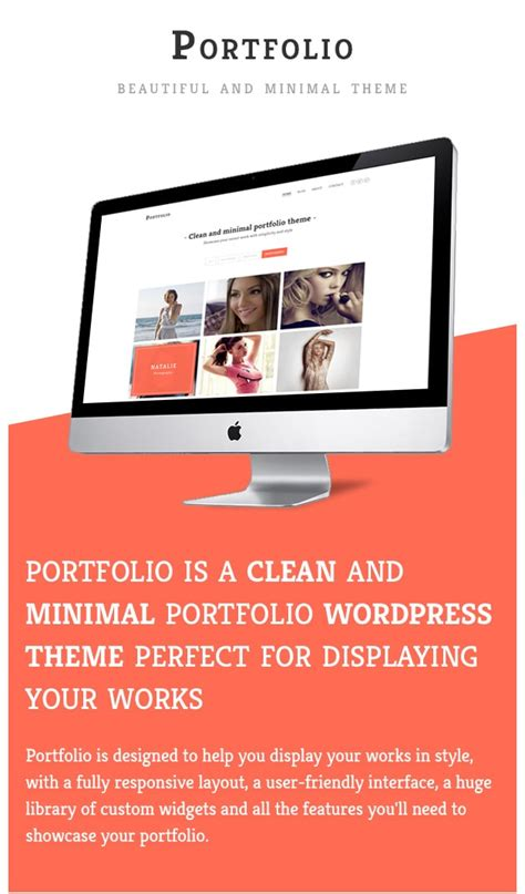 html themes portfolio download portfolio minimal portfolio wordpress theme