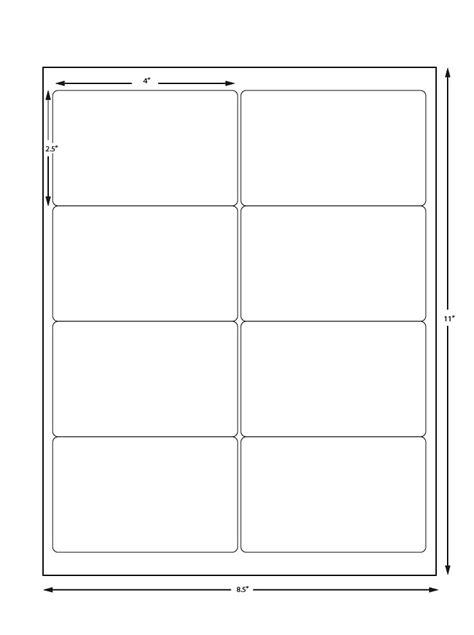 Printer Labels 8 Per Sheet avery sheet labels 8 labels per sheet
