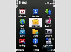 Nokia 6700 slide Review - Interface and Functionality ... Nokia 6700 Menu