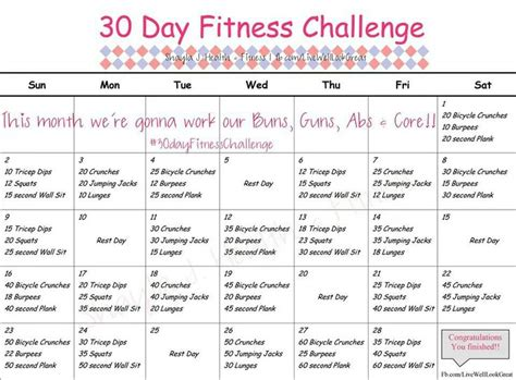 28 day challenge 28 day challenge fit and